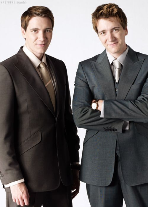 James and Oliver Phelps!