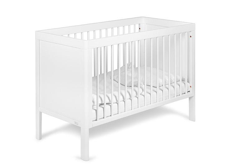 Troll spjälsäng/soffa Lukas är en snyggt genomarbetad säng med dolda skruvar som lätt görs om till en barnsoffa- köp den tryggt och säkert hos Bonti.se.