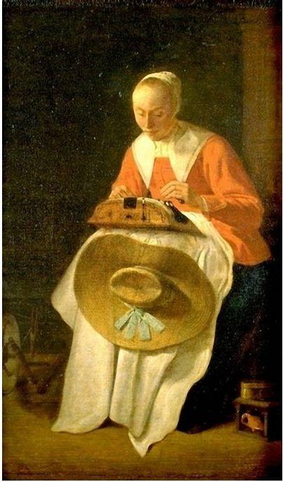 Lacemaker / Pieter Jacobsz Codde / Dutch artist / 1599-1678