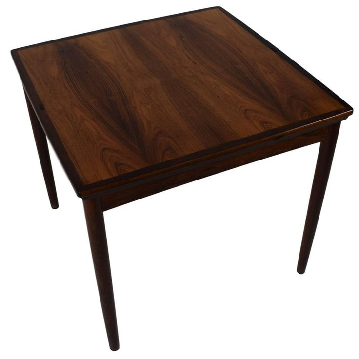 Danish Midcentury Games Table / Dining Table by Poul Hundevad, Reversible Top | From a unique collection of antique and modern game tables at https://www.1stdibs.com/furniture/tables/game-tables/