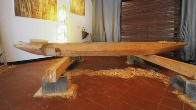 Cypress canoe