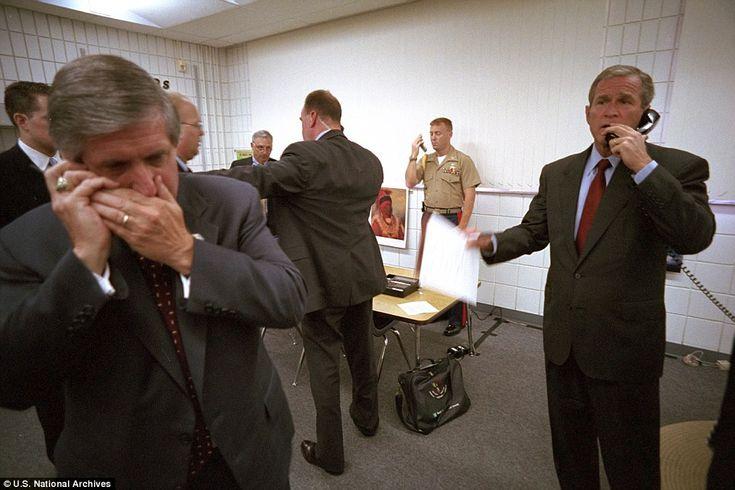 Bush called New York Governor George Pataki, FBI Director Robert Mueller and Vice Presiden...
