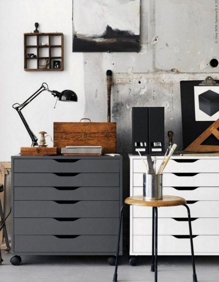 Buro mobel praktisch organisieren platz sparen  422 besten Büro - Büromöbel - Schreibtisch - Home office Bilder ...