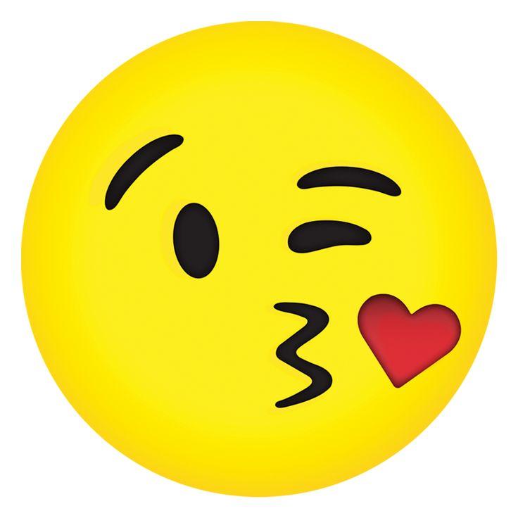 Kissy Emoji Microbead Pillow