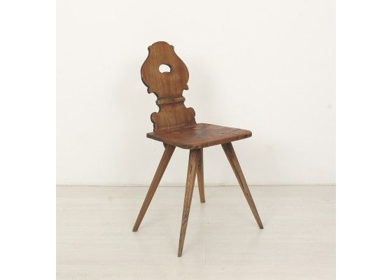 German Dinning Chair c. 1820 - Perhaps make a repro using salvaged wood?