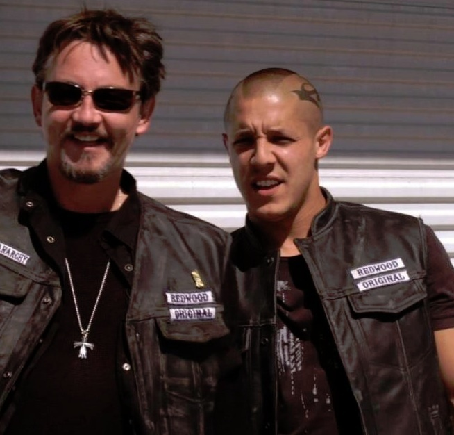 Chibs and Juice - Season 1 I believe this is when they were admiring Emily Duncan.