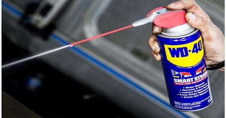 Não Perca!l Conhece o WD-40? Este óleo multiuso é tão poderoso que você vai querer comprar já! - # #lubrificante #tiraferrugem