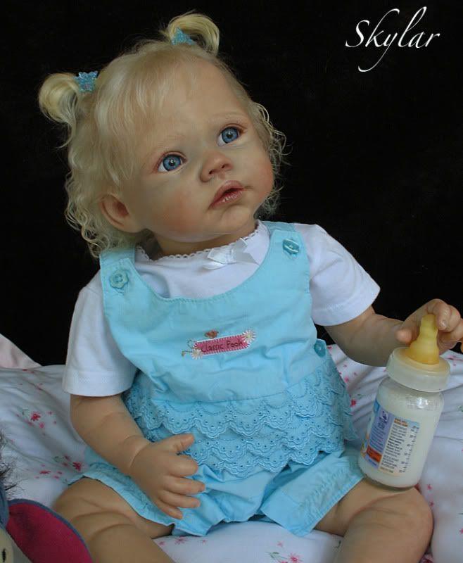 "bluebonnet babies DOLLS | about REBORN Baby Girl ""Rainer"" Romie Strydom Bluebonnet Babies ..."