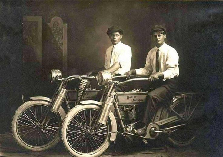 William Harley and Arthur Davidson
