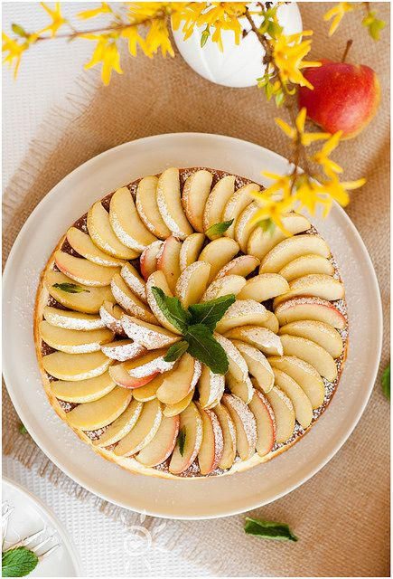 Apple Cheesecake | Saulėta Virtuvė