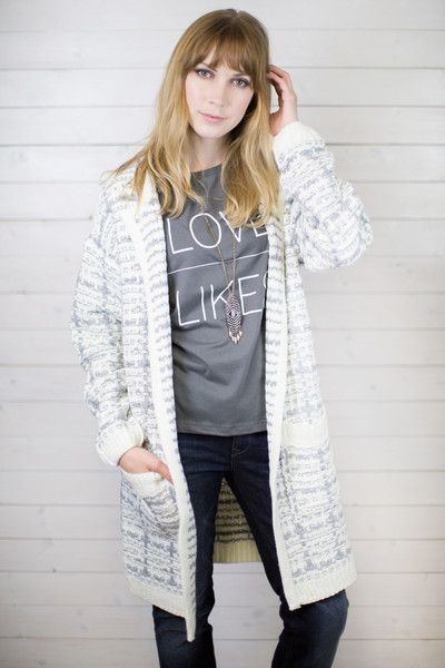 Black Check Oversized Blanket Cardigan 70