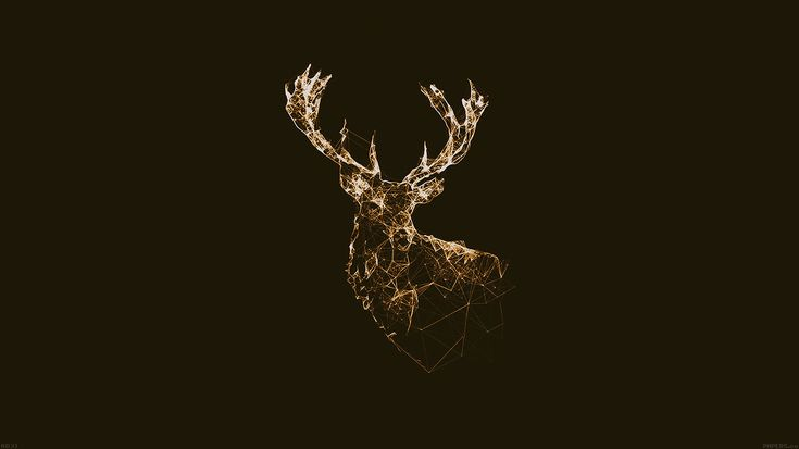 wallpaper-desktop-laptop-mac-macbook-ad31-deer-animal-illust-choco-wallpaper
