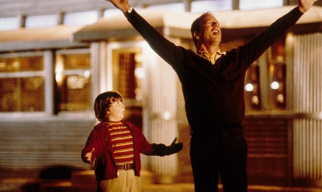 Still of Bruce Willis in The Kid (one of my favorite movies!)