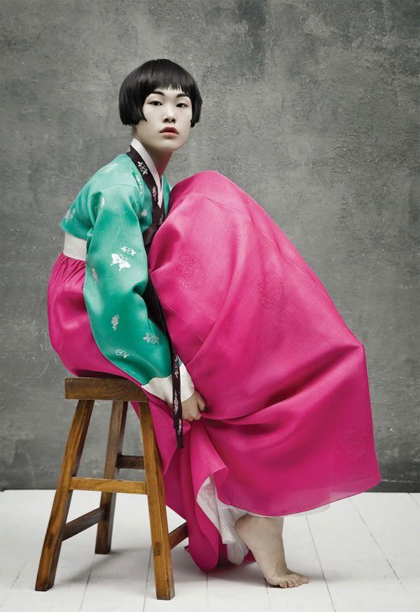 Hanbok Vogue, Korea, traditional attire