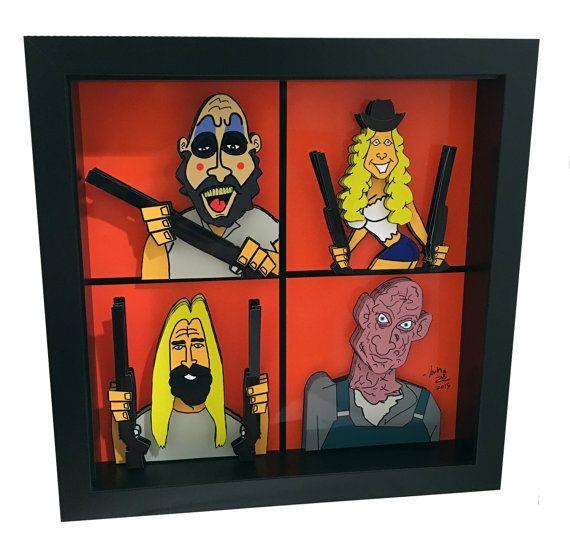 Captain Spaulding The Devil's Rejects Horror Pop Art by PopsicArt