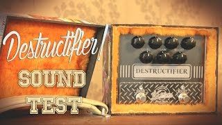 This is a High Gain pedal, made by Victoria Amplifier, a Brazilian boutique Handmaker.