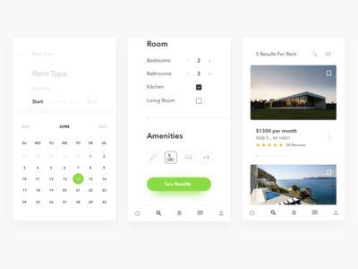 Properties app search rent