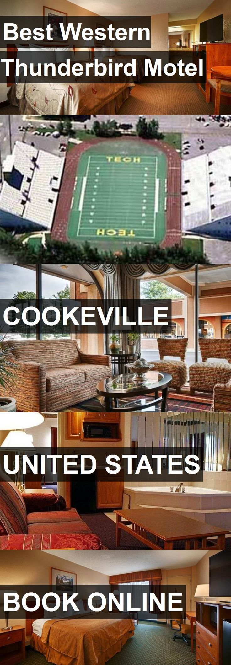 Hotel Best Western Thunderbird Motel in Cookeville, United States. For more information, photos, reviews and best prices please follow the link. #UnitedStates #Cookeville #BestWesternThunderbirdMotel #hotel #travel #vacation