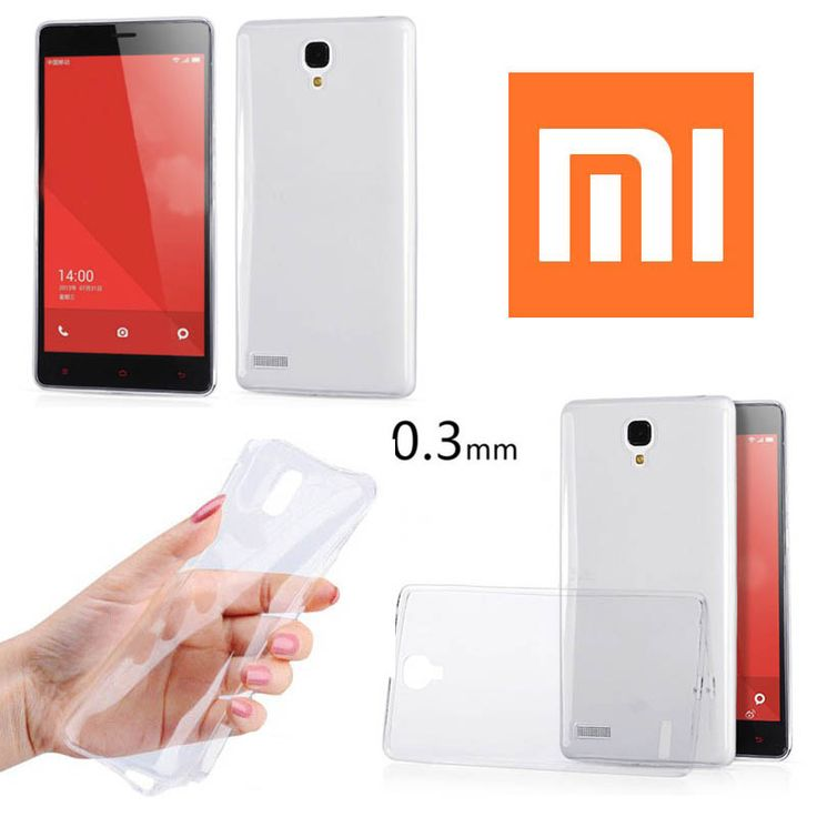 TPU Slim 0.3mm Soft Case Xiaomi Redmi Note - Rp 65.000