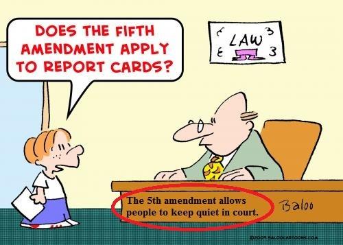 5th amendment rights in criminal cases