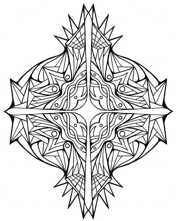 adult coloring pages cross - 6590 best images about to color on pinterest