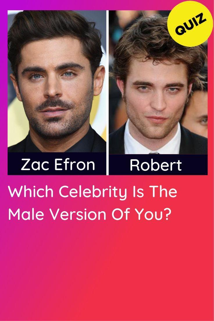 Celebrity Look Alike Quiz Male : celebrity, alike