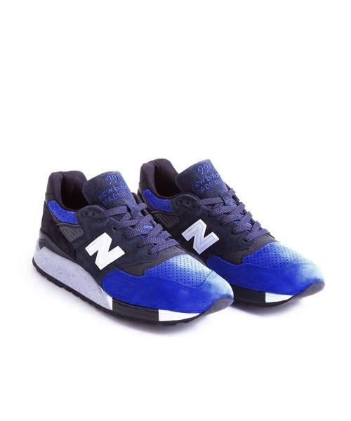 Limited Edition New Balance + Todd Snyder 998 : Midnight City