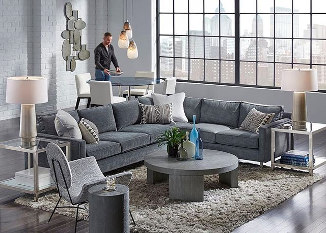 Lofty Aspirations Our Hunter Studio Sectional Creates Comfortable