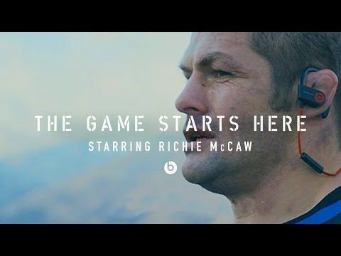Richie McCaw in The Game Starts Here - Beats by Dre | Rugby - YouTube