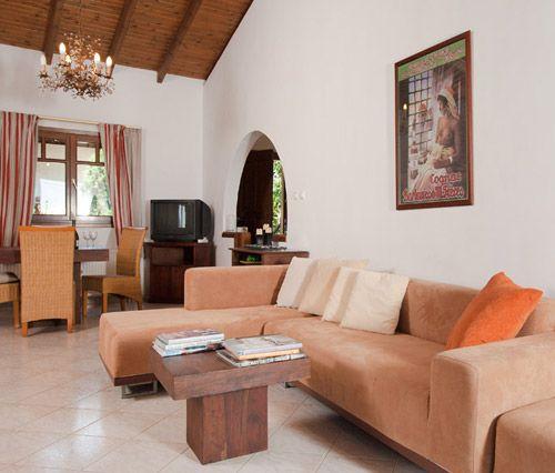 Amaryllis- Living room @ Porto Koufo Resort - Halkidiki
