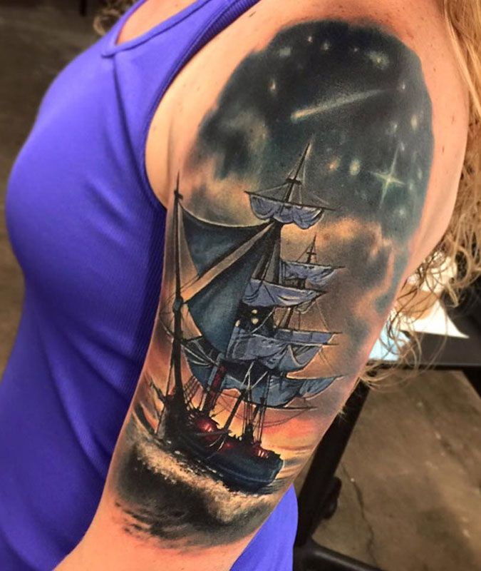 23 Best Amazing Tattoo Quotes For Men Images On Pinterest: 1000+ Images About Best Boat Tattoos In The World On