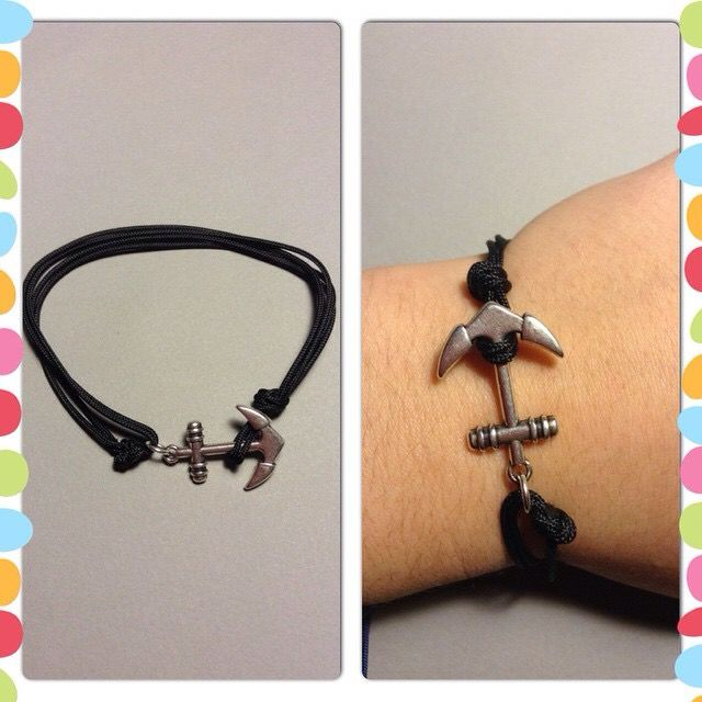 Bracelet with anchor ⚓️ for boys & girls