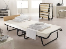 Jay-Be Impression is a guest bed with a memory foam mattress http://www.onlinebedshop.co.uk/