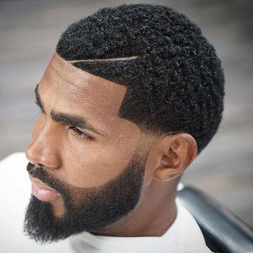 Mini Afro + Cool Beard Shape