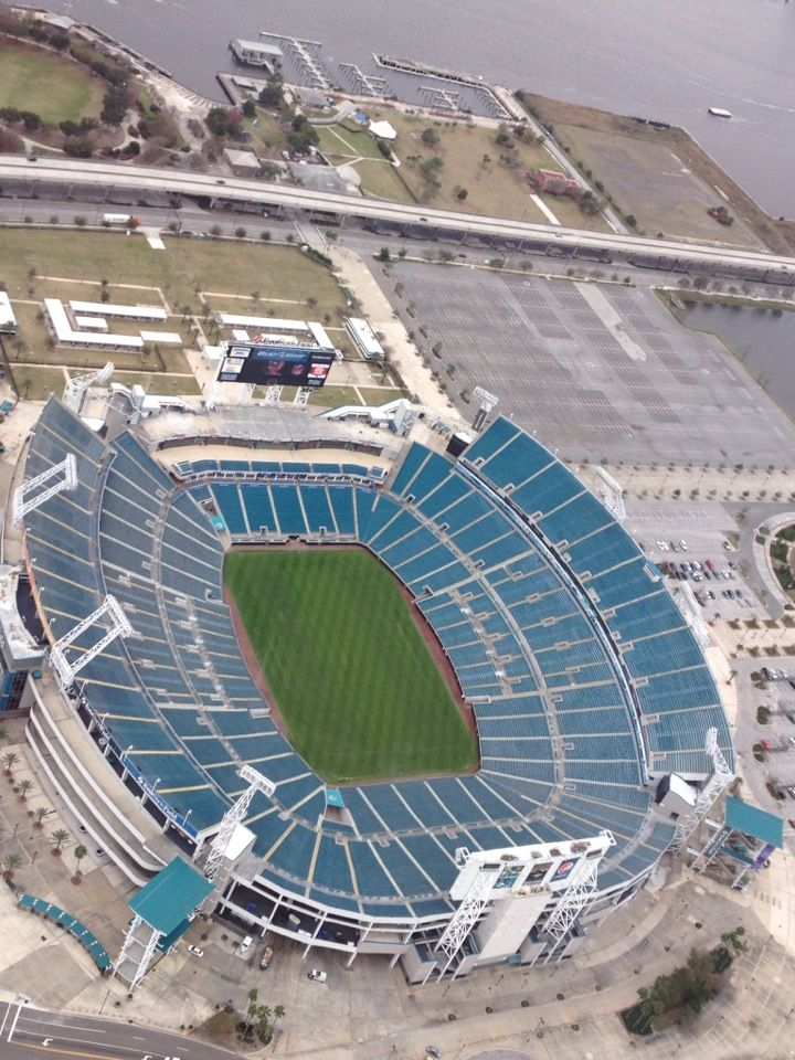 EverBank Field in Jacksonville, FL