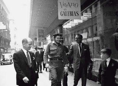 Ernesto Che Guevara en Madrid.