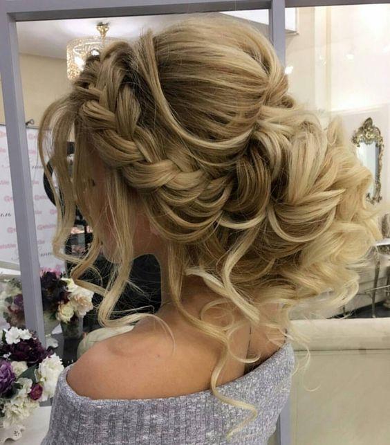 Gorgeous Braided Wedding Hairstyle