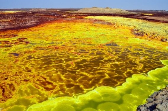 ダロル火山 /エチオピア