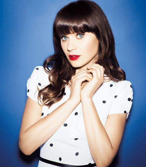 #Zooey Deschanel - quirky is beautiful