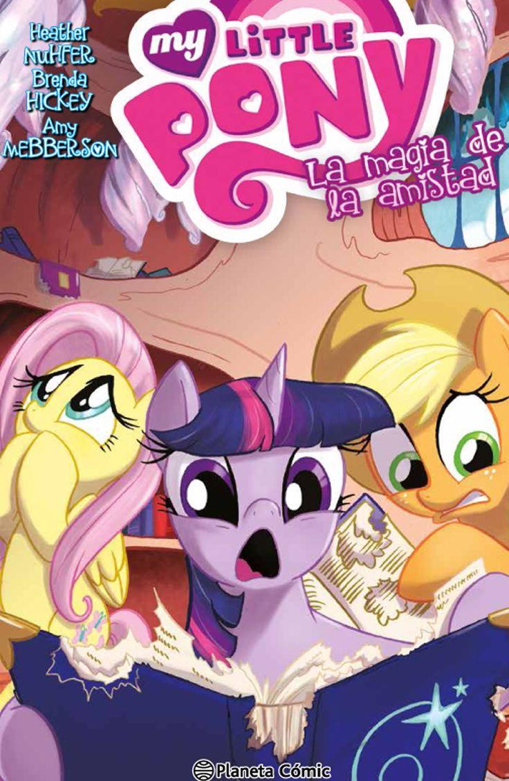 Cómic basado en la ultima serie de animación de los ponies, que se ha convertido en referencia absoluta con un estilo que atrae tanto a niños como adultos.