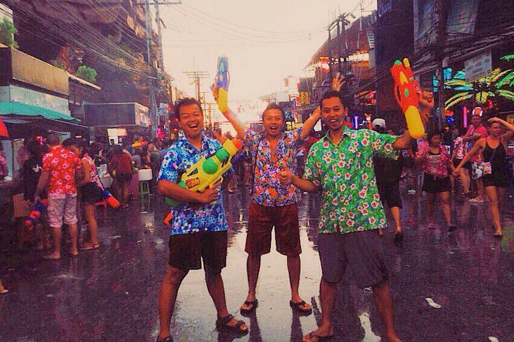 Songkran festival, phuket