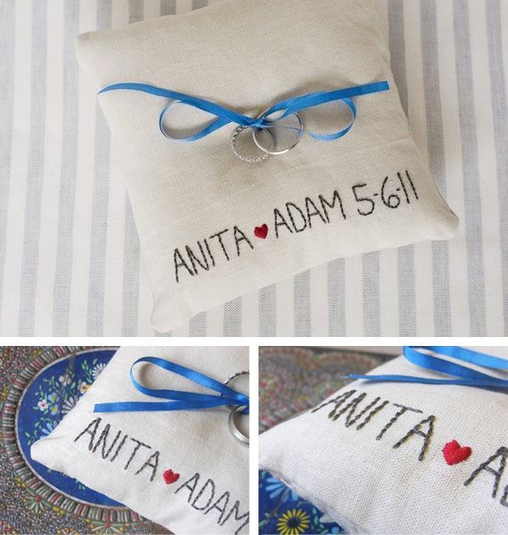 #ring bearer pillow #coussin alliances