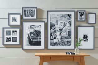 Decorate those walls with moments and people you never want to forget. Tap theimage to shop our new gallery wall frames.