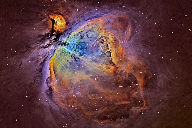 "M42 Orion Nebula In ""Narrow Band""  John Castillo"