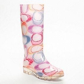 coach rainboots --love these!!