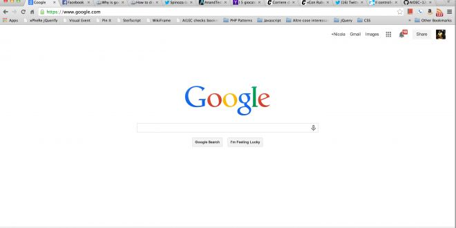 Wallpapers for Google Homepage