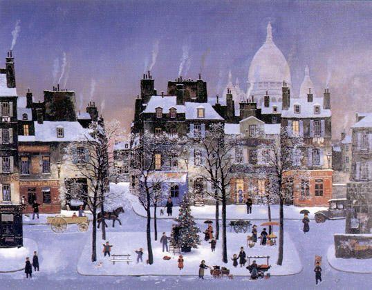 Michel Delacroix - Noël à Montmartre