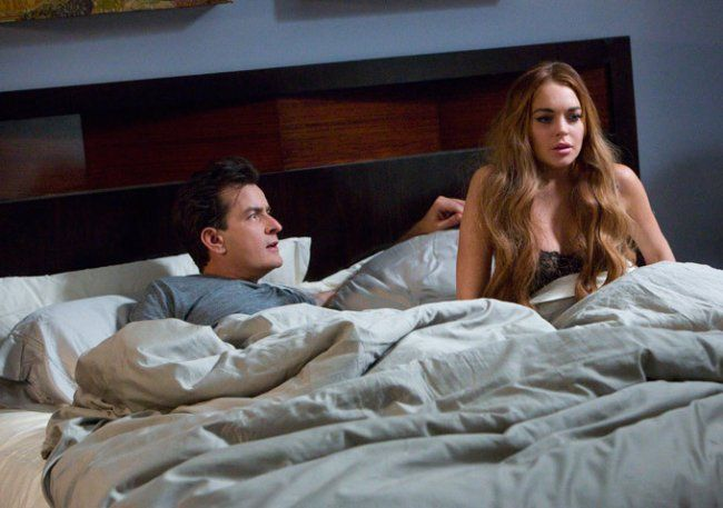 First look Scary Movie 5 with Charlie Sheen & Lindsay Lohan