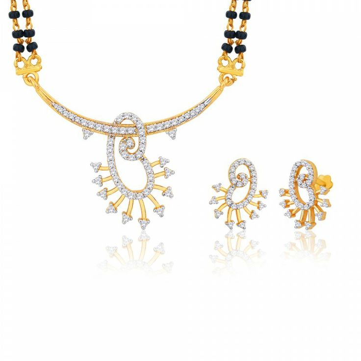 Peora | Reena - 18 Karat Gold Plated - Mangalsutras - Women's Jewellery - Jewellery | Fine Silver Jewellery