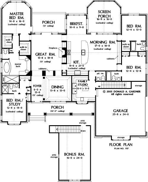 Closed kitchen floor plans for Closed kitchen floor plans